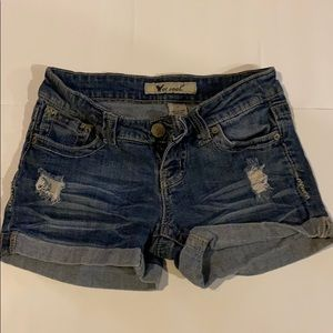 Wet Seal Jean Shorts Size 1